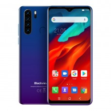 Blackview A80 Pro 6.49 Inch 4GB RAM 64GB ROM Octa Core Face Unlock Fingerprint Quad Rear Camera Dual SIM 4G Smartphone