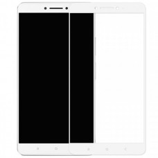 Xiaomi Mi Max 2 Full Cover Tempered Glass Screen Protector White